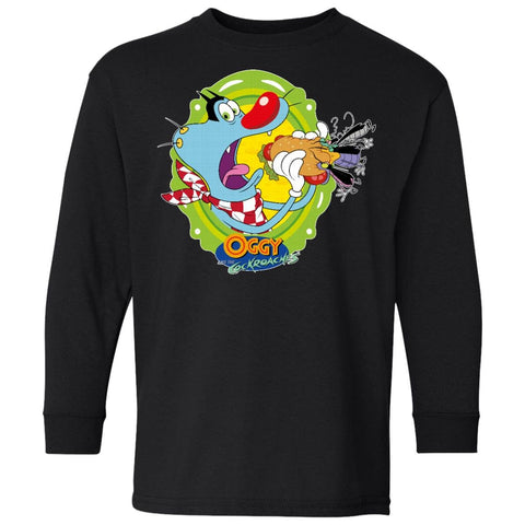 Oggy Sandwich - 100% Cotton Youth LS T-Shirt