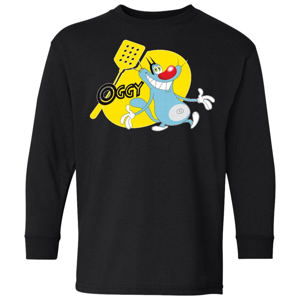Oggy - 100% Cotton Youth LS T-Shirt