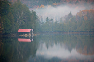 Boat House, Blue Mountain Lake