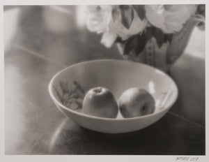 Steven Aimone — Dining Room Table, Bowl, Apples, Flowers, Rockland, Maine
