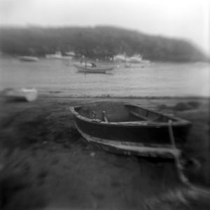 Skiff, Fish Beach, Monhegan Island