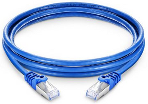 PATCH CORD CATEGORIA  6A AZUL 2 mts