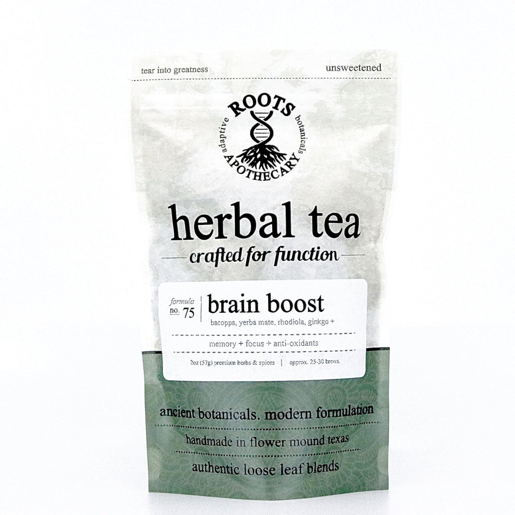 Herbal Tea - Brain Boost Tea - Adaptogens & Nootropics