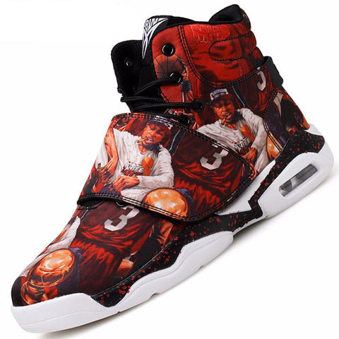 Couple Basketball Shoes Men Women Sports
