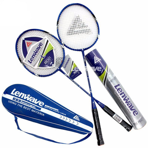 1 Pair Badminton Rackets And 12 PCS Badminton Balls