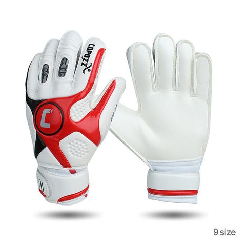4mm Thick Senior Latex Finger Dual Protection Goalkeeper Glove