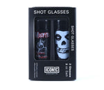 Misfits Shot Glasses Set (2 Pack) - Riles Belles