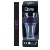 Misfits Purple Logo Heavy Duty Slap Band Pint Glass - Riles Belles