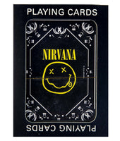Nirvana Smiley Logo Playing Cards - Riles Belles