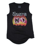 The Doors Sunset 50Th Juniors Tank Top Womens T-Shirts
