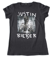 Justin Bieber Purpose Juniors T-Shirt - Riles Belles