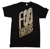 Foo Fighters Slanted Logo Slim Fit T-Shirt - Riles Belles