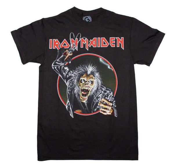 Iron Maiden Eddie Hook T-Shirt - Riles Belles