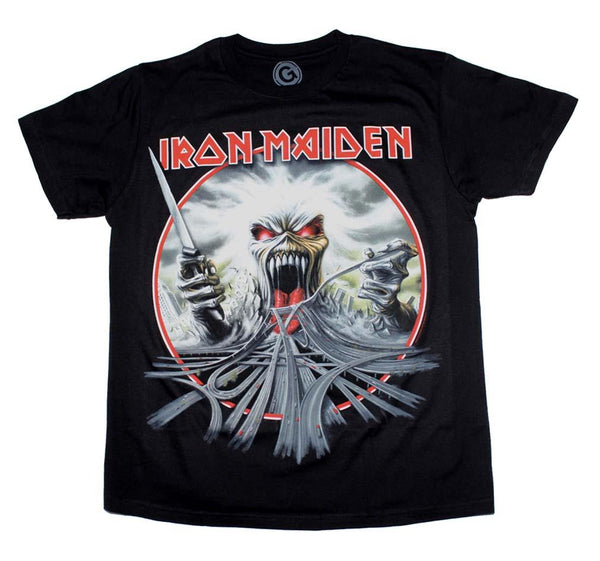 Iron Maiden California Highway T-Shirt - Riles Belles