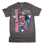 Iron Maiden Somewhere in Time Vintage Circle T-Shirt - Riles Belles