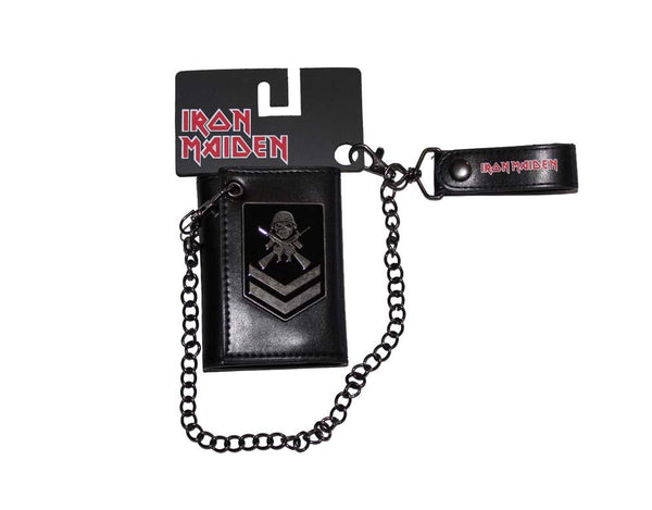 Iron Maiden Matter of Life and Death Wallet & Chain - Riles Belles
