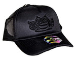 Five Finger Death Punch Black on Black Snapback Hat - Riles Belles