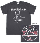Bathory Goat Logo T-Shirt - Riles Belles
