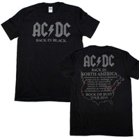 AC/DC Back in Black 2016 T-Shirt - Riles Belles