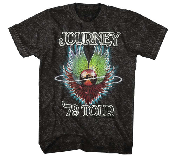 Journey 1979 Mineral Wash T-Shirt - Riles Belles