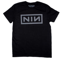 Nine Inch Nails Grey NIN Logo T-Shirt - Riles Belles