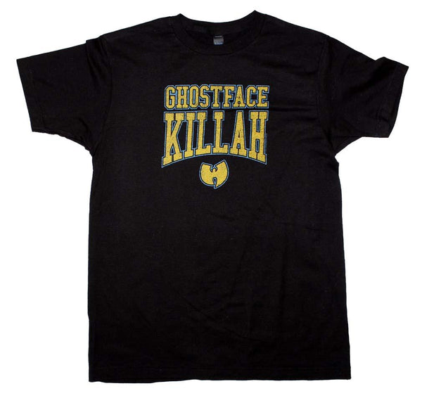 Wu Tang Clan Ghost Face Killer Logo T-Shirt Mens T-Shirts
