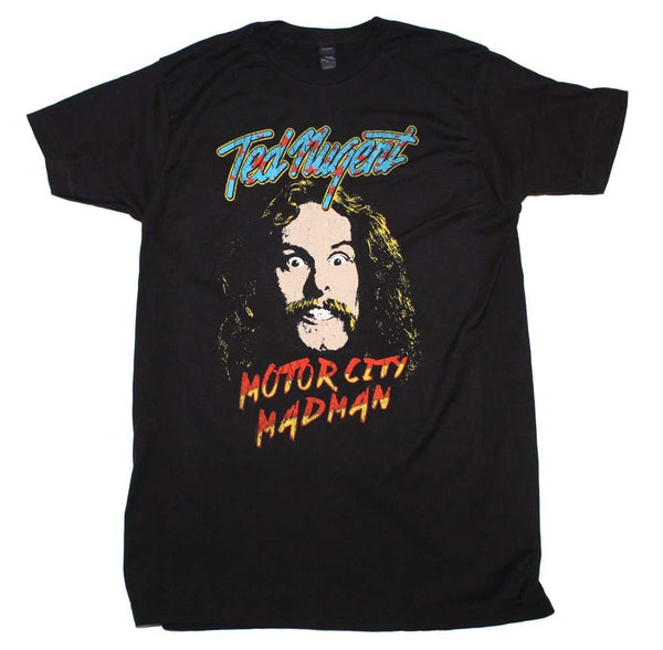 Ted Nugent Motor City Madman T-Shirt Mens T-Shirts