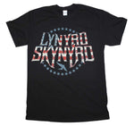 Lynyrd Skynyrd Stripes and Stars Logo T-Shirt - Riles Belles