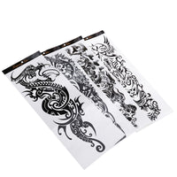 Rosenice 4 Sheets Temporary Arm Tattoos Long Lasting Unisex