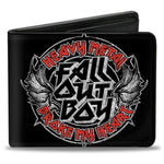 Fall Out Boy Heavy Metal Broke my Heart Bifold Wallet - Riles Belles