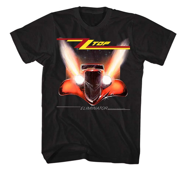 Zz Top Eliminator Cover T-Shirt Mens T-Shirts