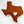 Customizable Wool Felt Texas State Throw Pillow