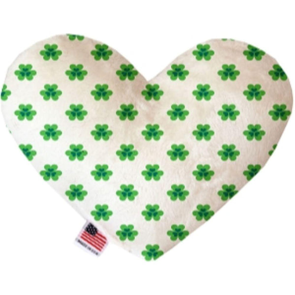 Lucky Charms Heart Dog Toy 6 Inch