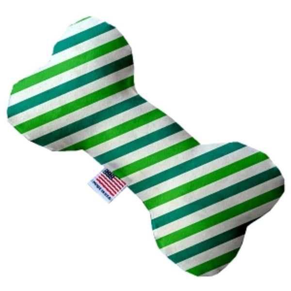 Lucky Stripes Bone Dog Toy 10 Inch