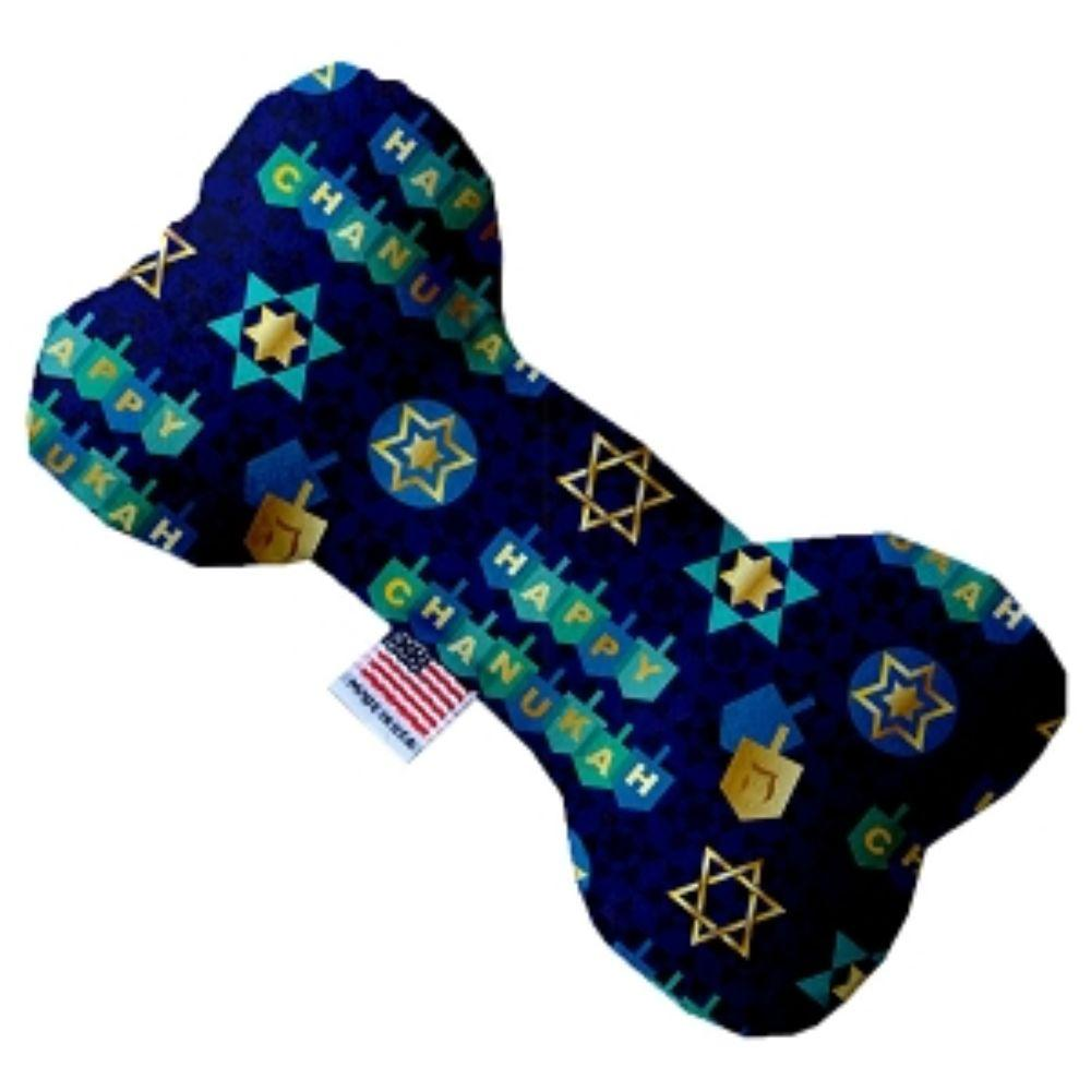 Chanukah Bliss Bone Dog Toy 10 Inch