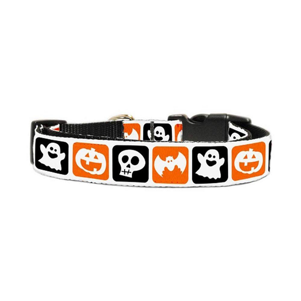 Classic Halloween Nylon Ribbon Collar