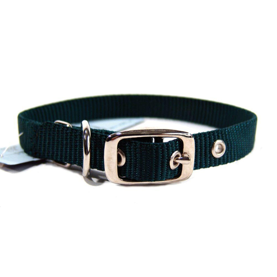 Single Thick Nylon Dog Collar (Size 5/8 X 16 In.)