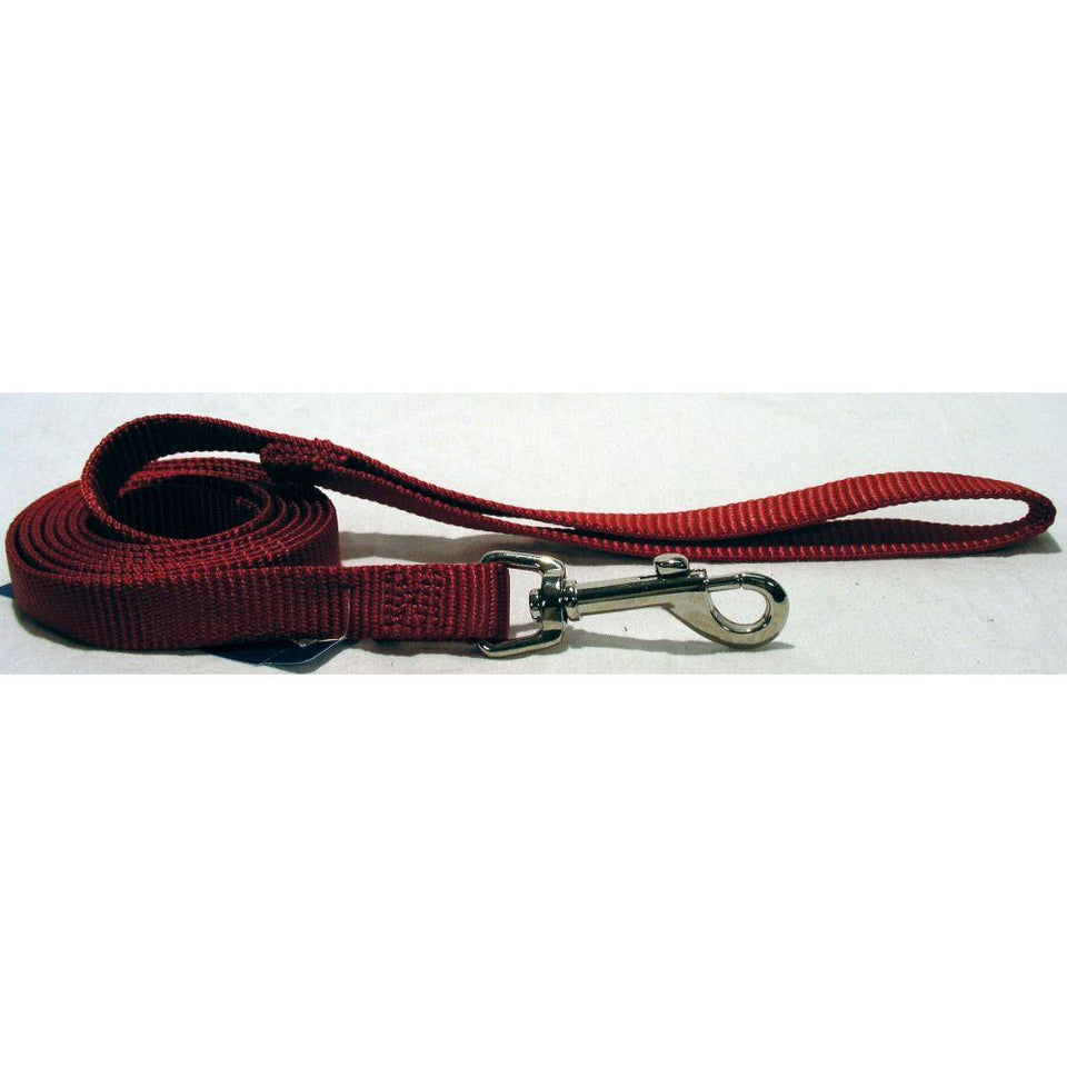 Single Thick Nylon Lead (Size 5/8 In X 4 Ft. Red.)