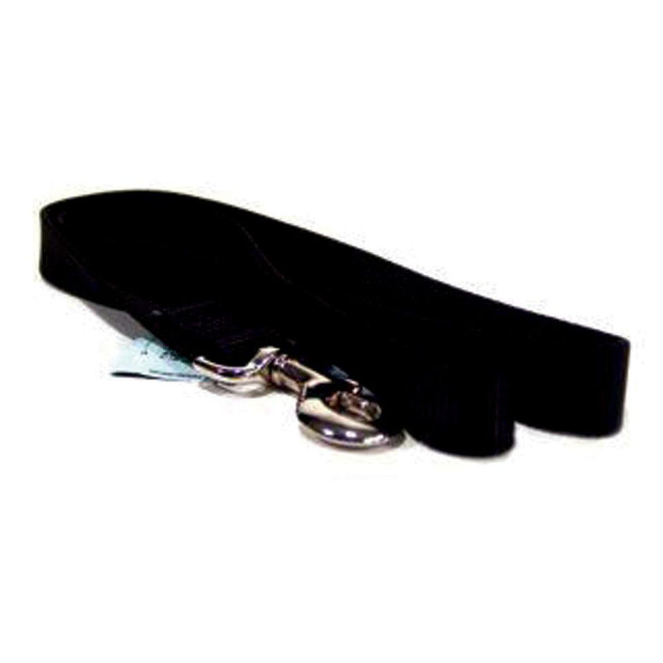 Single Thick Nylon Lead (Size 1 In X 4 Ft. Black.)