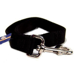 Single Thick Nylon Lead (Size 1 In X 2 Ft. Black)