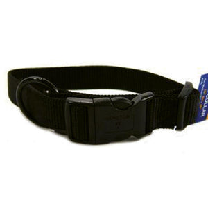 Adjustable Dog Collar (Size 1x18-26 In. Black.)