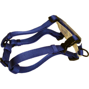 Adjustable Dog Harness (Size 1 X 30-40 In. Blue)