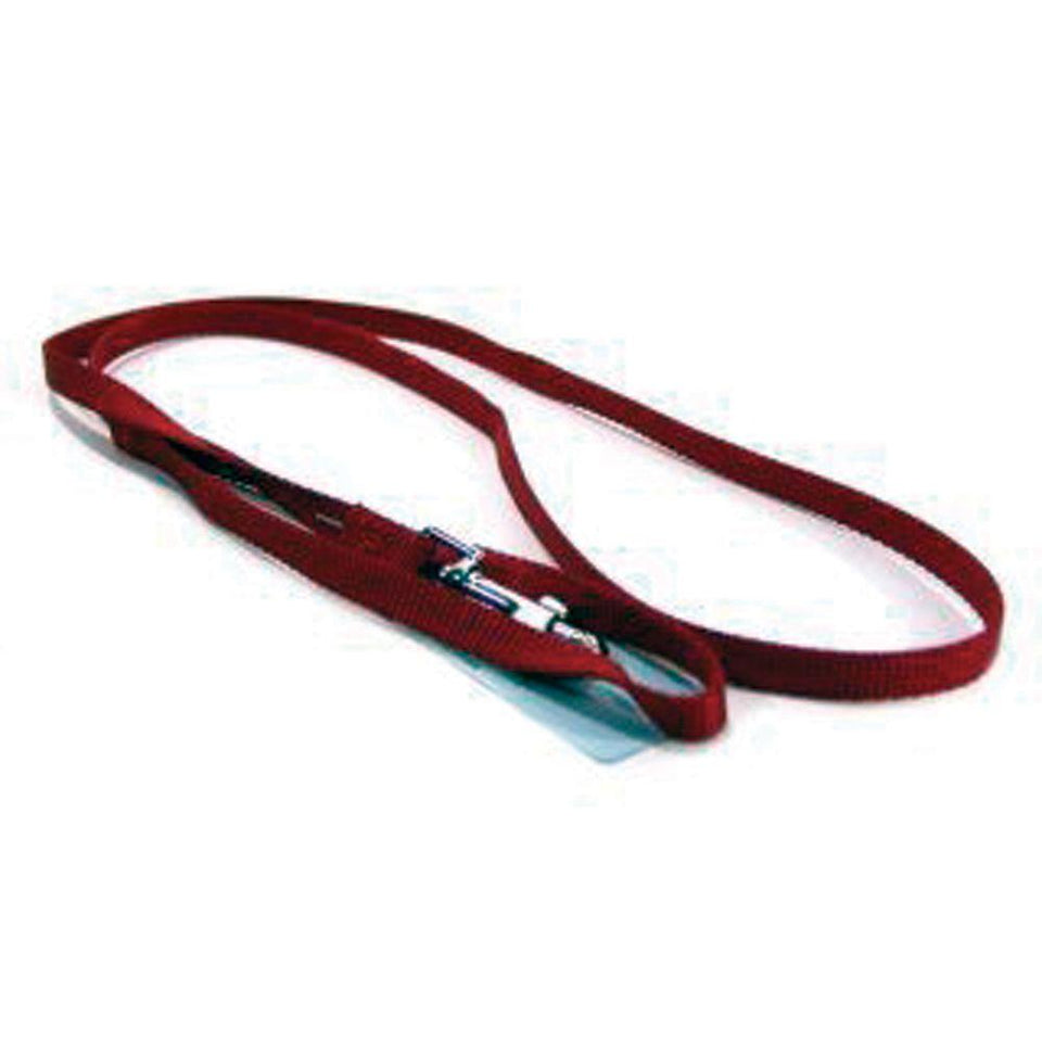 Single Thick Nylon Lead (Size 3/8 In X 4 Ft. Red)