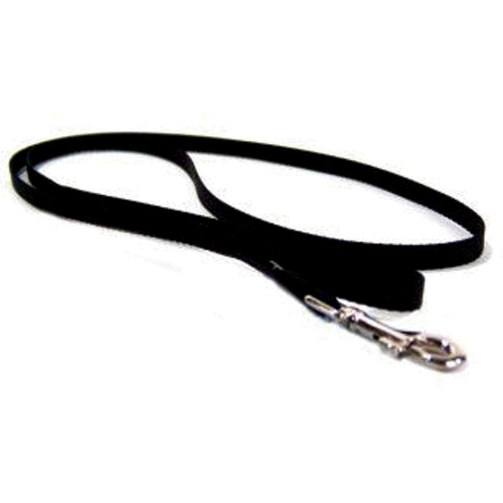 Single Thick Nylon Lead (Size 3/8 In X 4ft. Black)