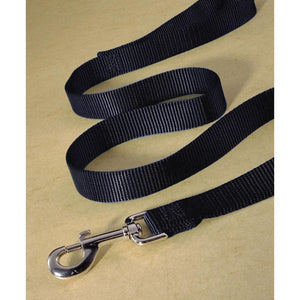 Single Thick Nylon Lead (Size 3/4 In X 4 Ft. Black)