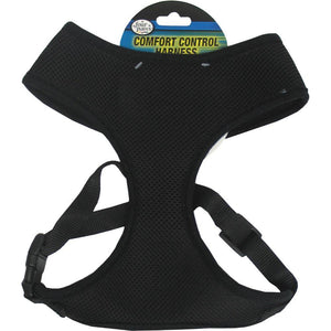 Comfort Control Dog Harness Black small