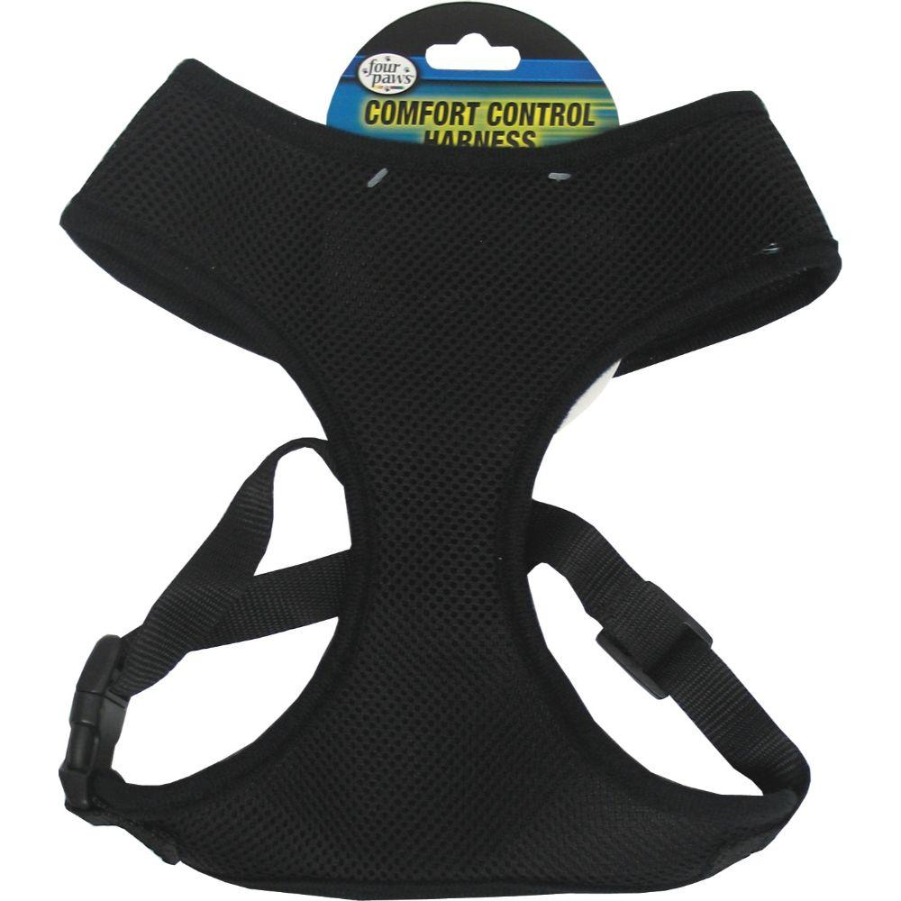 Comfort Control Dog Harness (Extra Large. Black.)