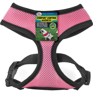 Comfort Control Dog Harness Pink X-small