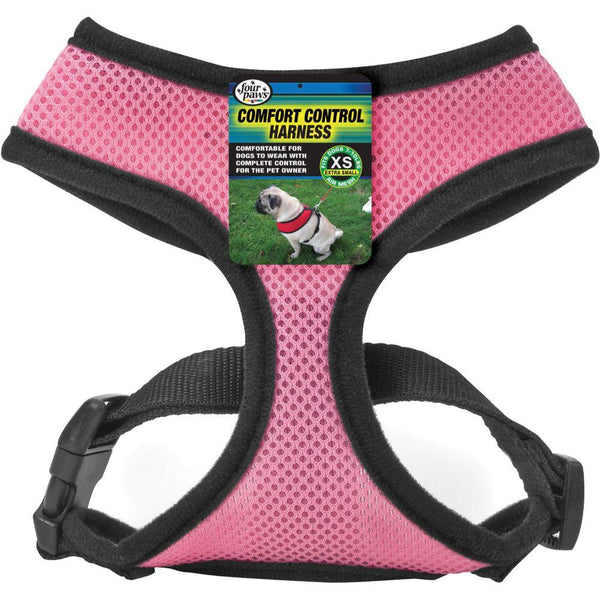Comfort Control Dog Harness Extra Small Pink