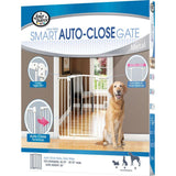 Auto Closing Metal Gate Extra Wide